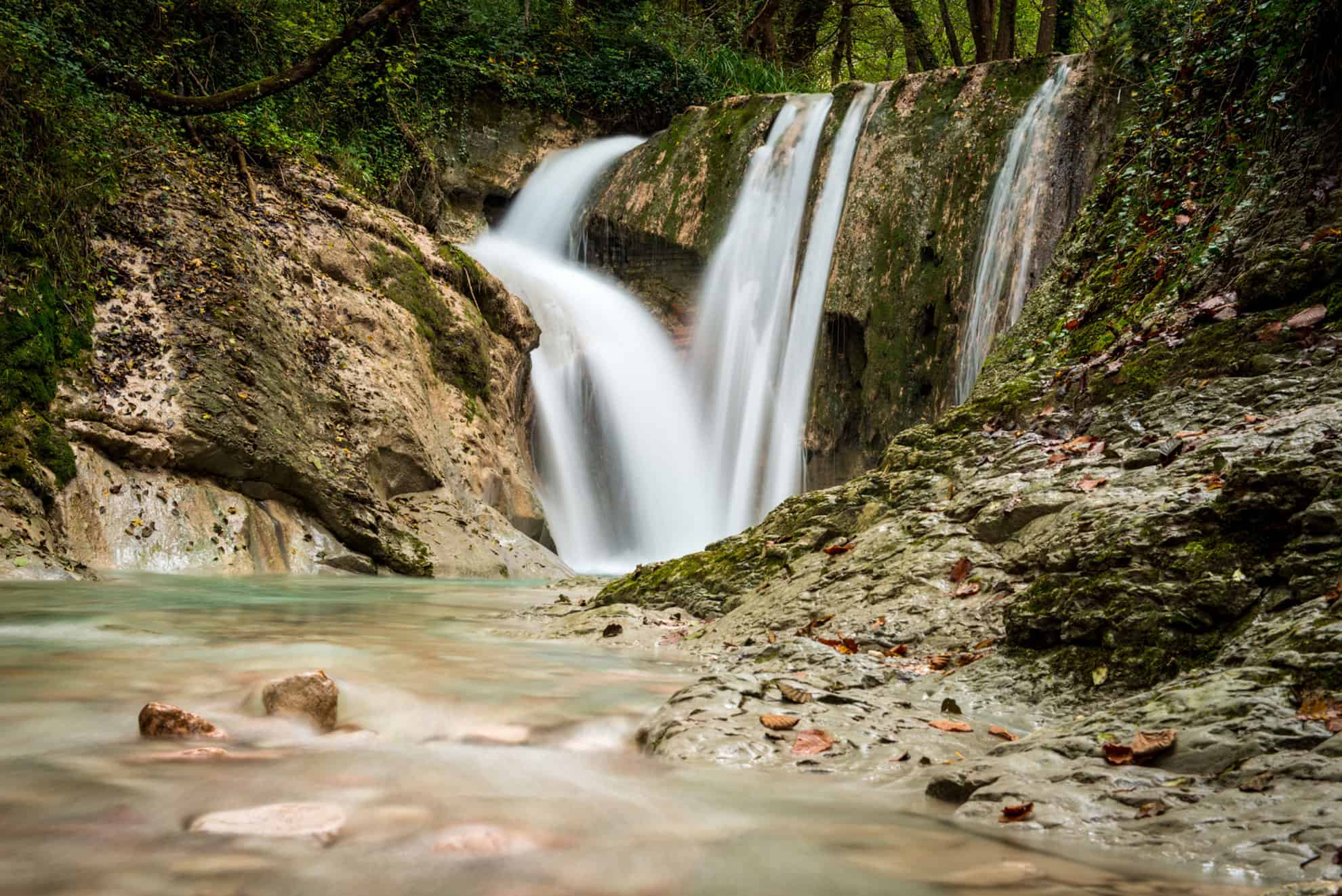 Cascatelle di Sarnano - Foto di Luca Tambella