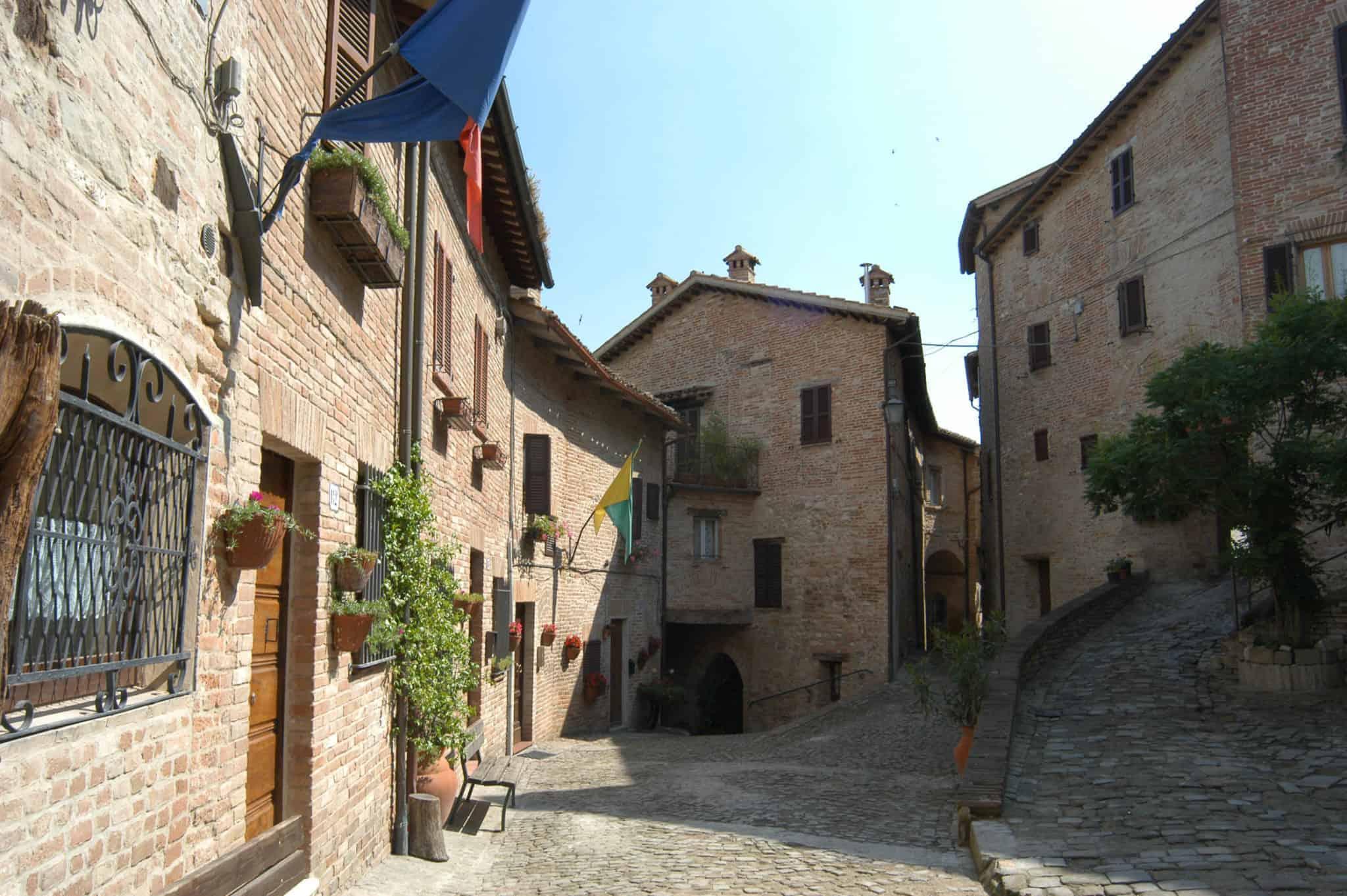 Piazzetta della Picassera Sarnano