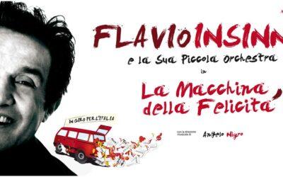 Flavio Insinna e la sua Piccola Orchestra in la Macchina della Felicità a Sarnano