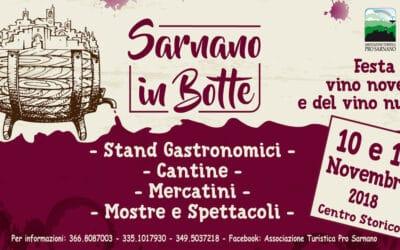Sarnano in Botte: la festa del vino novello e del vino nuovo