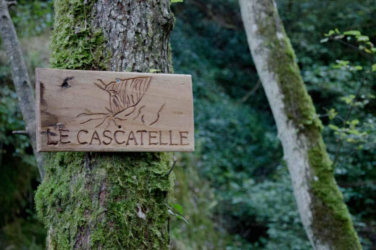 Itinerario per le Cascatelle di Sarnano