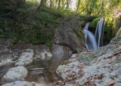 Cascatelle di Sarnano - Foto di Isabella Tomassucci