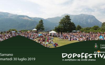 RisorgiMarche, 30 luglio: DopoFestival a Sarnano