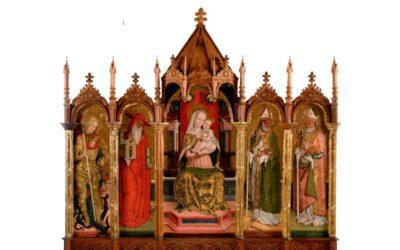 La Madonna del Crivelli ad Ascoli Piceno e a Roma: in cambio, il polittico di Alamanno