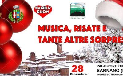 Family Show: sabato 28 dicembre a Sarnano