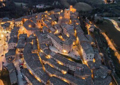 Centro storico di Sarnano - Foto di Lorenzo Di Luca