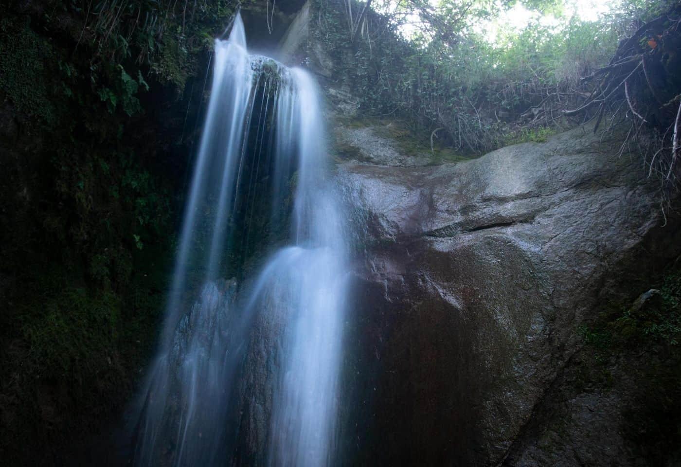Cascata piccola de Lu Vagnatò - Via delle Cascate Perdute di Sarnano