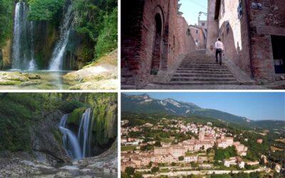 Agosto a Sarnano: passeggiate tra il centro storico e Via delle Cascate Perdute