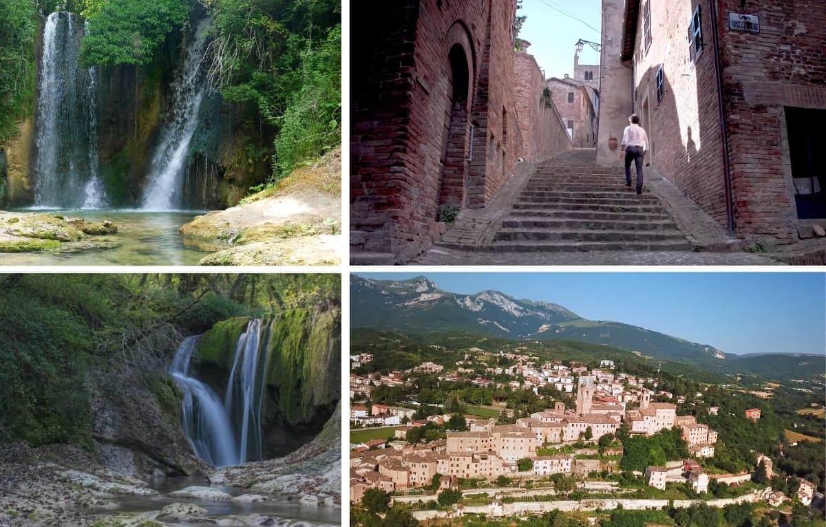 Agosto a Sarnano: passeggiate tra il centro storico e le suggestive cascate