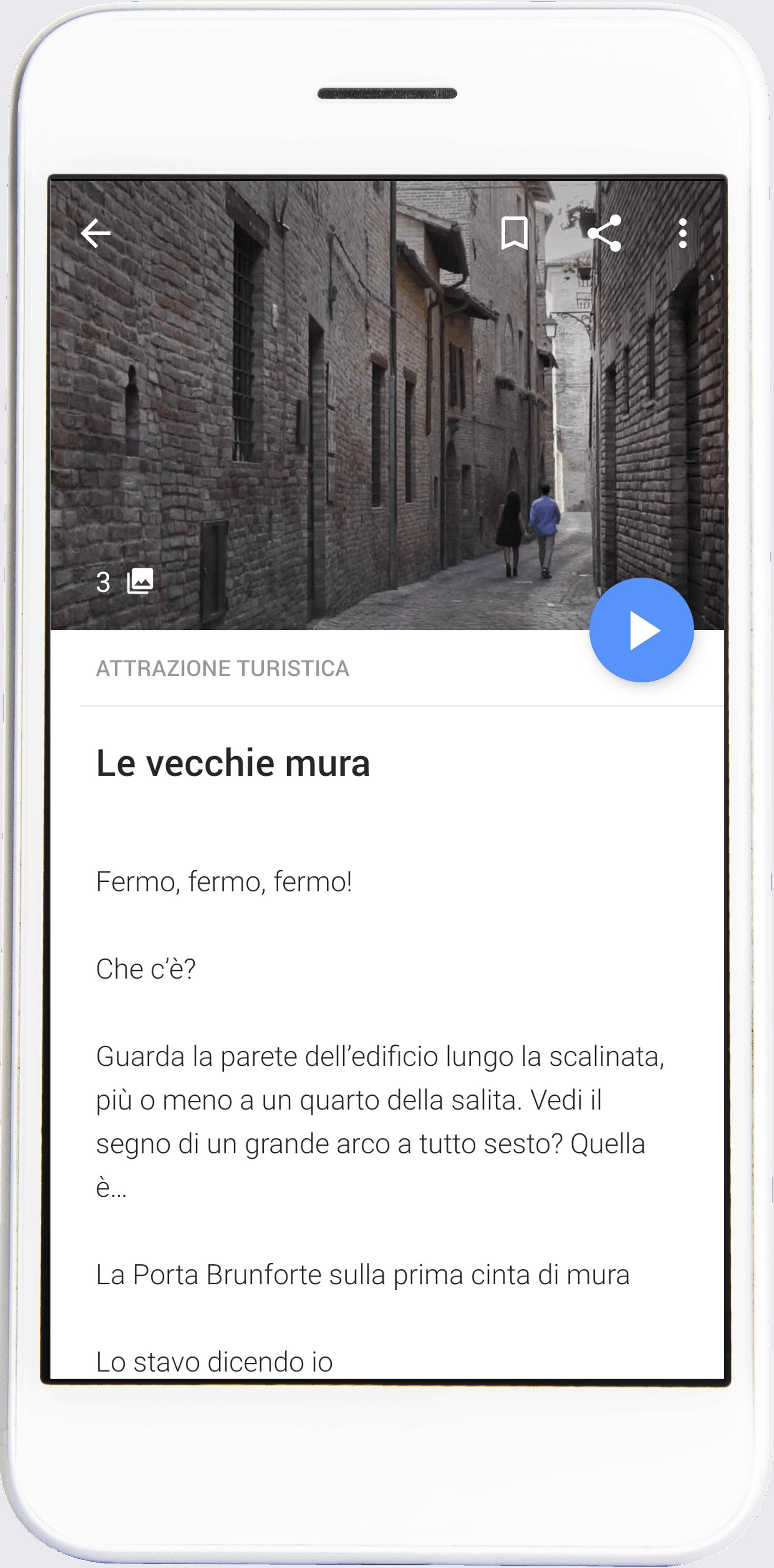 Scopri Sarnano con l'audioguida gratuita sull'app izi.TRAVEL