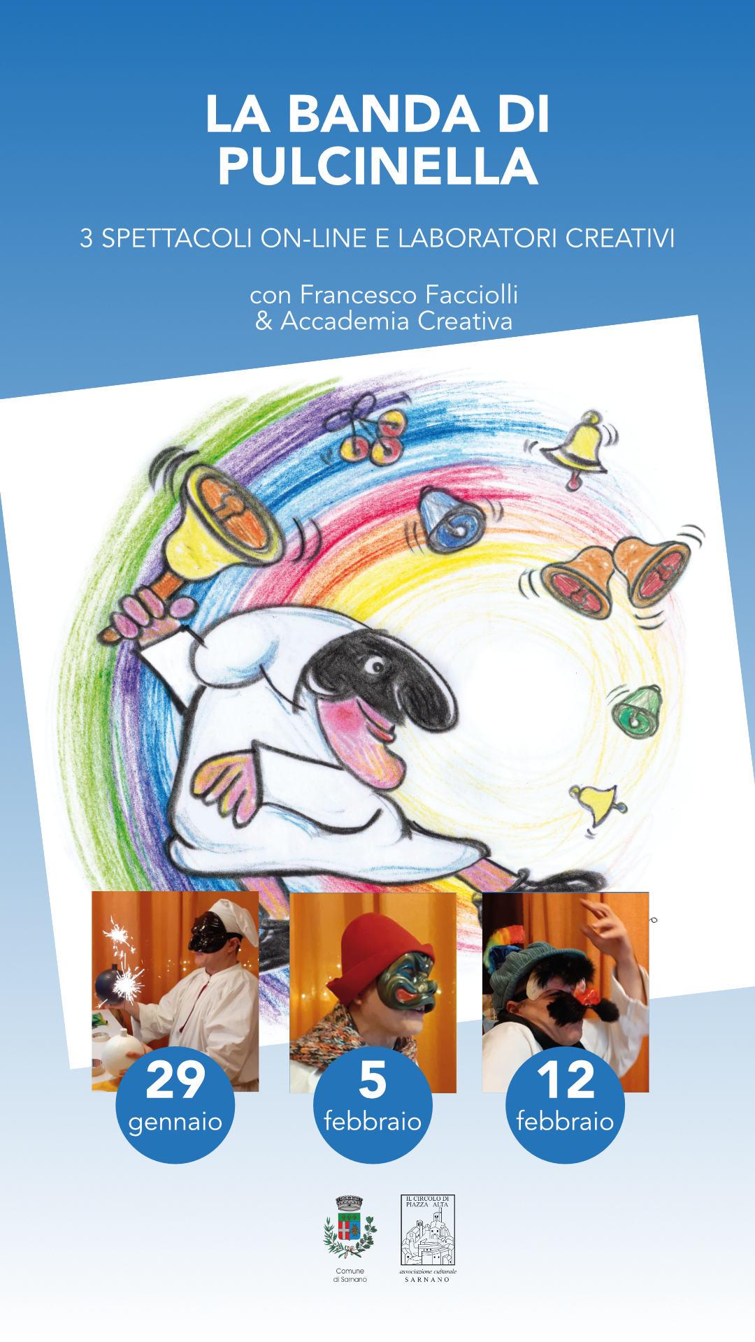 La Banda di Pulcinella - Spettacoli online per bambini - Sarnano